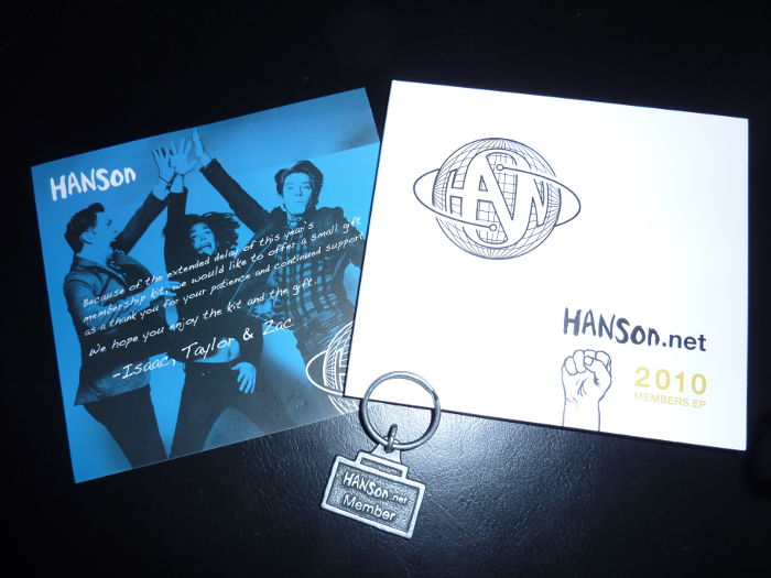 Hanson.net membership kit 2010