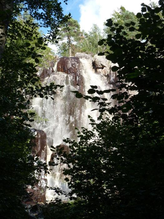 Waterfall in Vargön 20110818