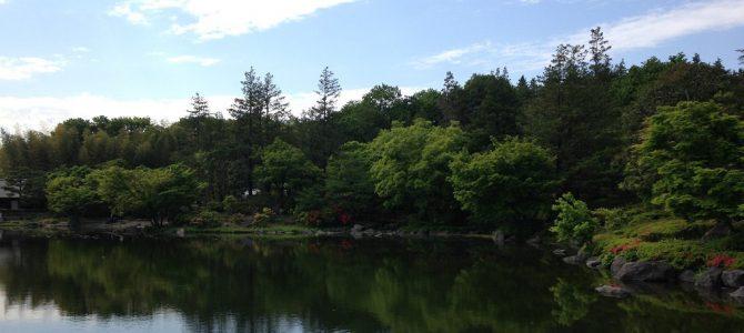 Showa Kinen Park i Tachikawa, maj 2015